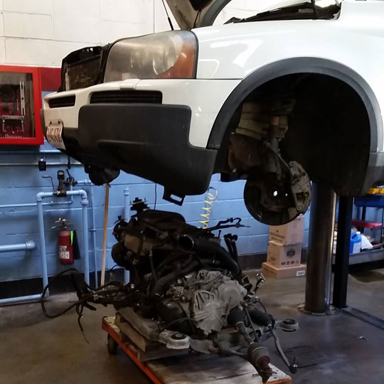 Volvo Engine Replacement